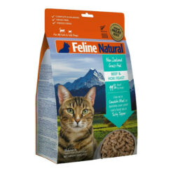 K9 Feline Natural Beef and Hoki Feast Raw Grain Free Freeze Dried Cat Food