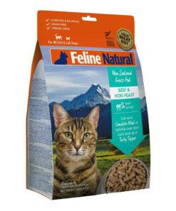 K9 Feline Natural Beef and Hoki Feast Raw Grain Free Freeze Dried Cat Food