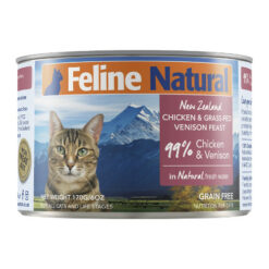 K9 Feline Natural Chicken & Venison Feast Grain Free Canned Cat Food