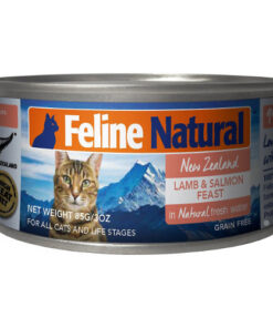 K9 Feline Natural Lamb and Salmon Feast Grain Free Canned Cat Food
