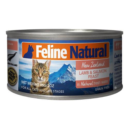 K9 Feline Natural Lamb and Salmon Feast Grain Free Canned Cat Food