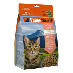 K9 Feline Natural Lamb and Salmon Feast Raw Grain Free Freeze Dried Cat Food