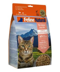 K9 Feline Natural Lamb and Salmon Feast Raw Grain Free Freeze Dried Cat Food