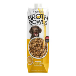Fruitables Chicken Broth Bowls Dog Food Topper
