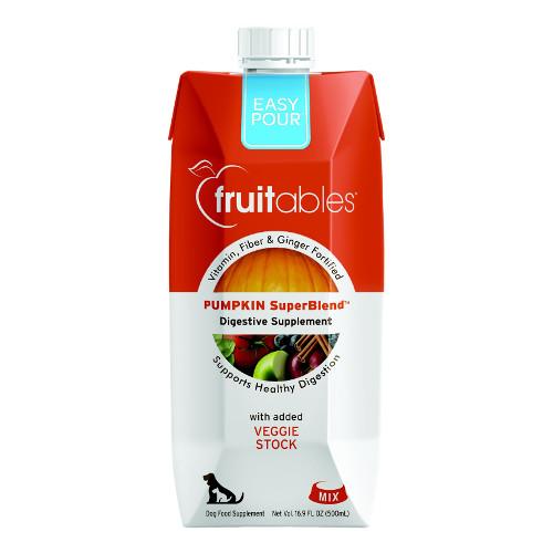 Fruitables Easy Pour Pumpkin Digestive Dog & Cat Supplement