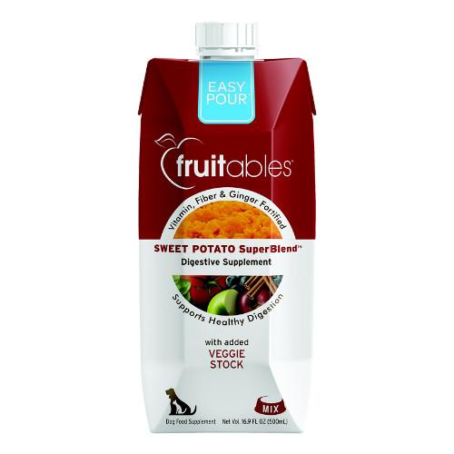 Fruitables Easy Pour Sweet Potato Digestive Dog & Cat Supplement