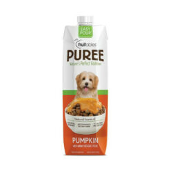 Fruitables Easy Pour Pumpkin Puree Dog Supplement
