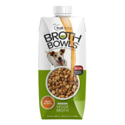 Fruitables Vegetable Broth Bowls Dog Food Topper