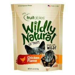 Fruitables Wildly Natural Chicken Flavor Cat Treats