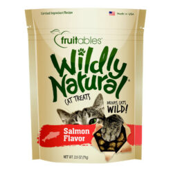 Fruitables Wildly Natural Salmon Flavor Cat Treats