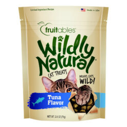 Fruitables Wildly Natural Tuna Flavor Cat Treats