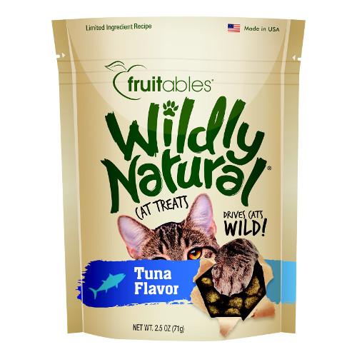 Fruitables Wildly Natural Tuna Flavor Cat Treats