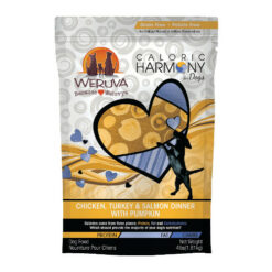 Weruva Caloric Harmony Chicken, Turkey & Salmon Dinner with Pumpkin Grain-Free Dry Dog Food