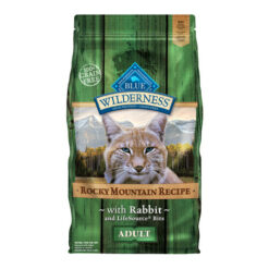 Blue Buffalo Wilderness Rocky Mountain Recipe with Rabbit Adult Grain-Free Dry Cat Food