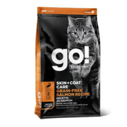 GO! Skin + Coat Grain Free Salmon Recipe Dry Cat Food