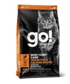 GO! Skin + Coat Grain Free Salmon Recipe Dry Cat Food
