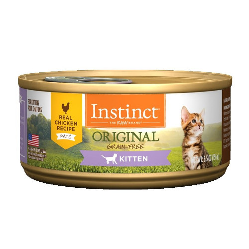 Nature's Variety Instinct Chicken Recipe Kitten Canned Cat Food