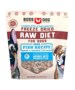 Boss Dog Freeze Dried Raw Diet Fish Recipe Dog Food