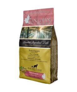Canadian Naturals Grain Free Limited Ingredient Diets Pork & Squash Dry Dog Food