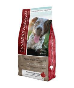Canadian Naturals Pork & Brown Rice Dry Dog Food