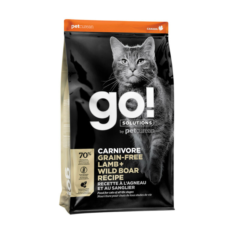 Go! Solutions Carnivore Grain-Free Lamb + Wild Boar Recipe Dry Cat Food