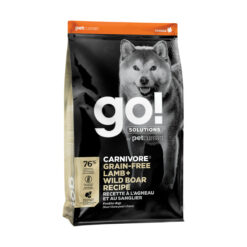 Go! Solutions Carnivore Grain-Free Lamb + Wild Boar Recipe Dry Dog Food