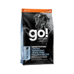 Go! Solutions Sensitivities Limited Ingredient Grain-Free Pollock Dry Dog Food