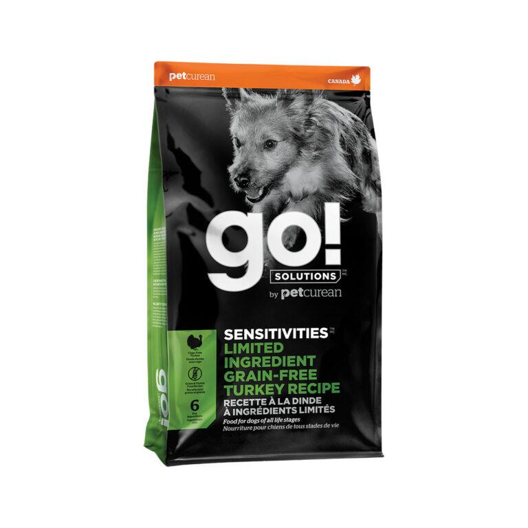 Go! Solutions Sensitivities Limited Ingredient Grain-Free Turkey Dry Dog Food