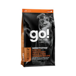 Go! Solutions Sensitivities Limited Ingredient Grain-Free Venison Dry Dog Food