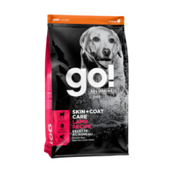 Go! Solutions Skin + Coat Care Lamb Recipe Dry Dog Food