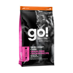 Go! Solutions Skin + Coat Care Grain-Free Chicken Recipe Dry Dog Food