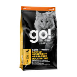 Go! Solutions Sensitivies Limited Ingredient Grain Free Duck Recipe Dry Cat Food