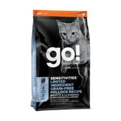 Go! Solutions Sensitivies Limited Ingredient Grain Free Pollock Recipe Dry Cat Food