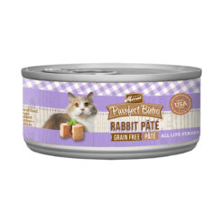 Merrick Purrfect Bistro Rabbit Pate Grain-Free Canned Cat Food