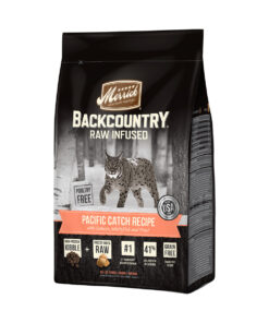 Merrick Backcountry Raw Infused Pacific Catch Recipe Grain-Free Dry Cat Food