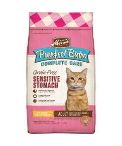 Merrick Purrfect Bistro Complete Care Grain- Free Sensitive Stomach Recipe Dry Cat Food