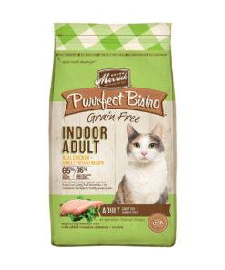 Merrick Purrfect Bistro Grain-Free Indoor Adult Chicken + Sweet Potato Recipe Dry Cat Food