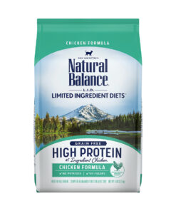 Natural Balance L.I.D. Limited Ingredient Diets High Protein Chicken Formula Dry Cat Food