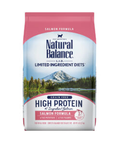 Natural Balance L.I.D. Limited Ingredient Diets High Protein Salmon Formula Dry Cat Food