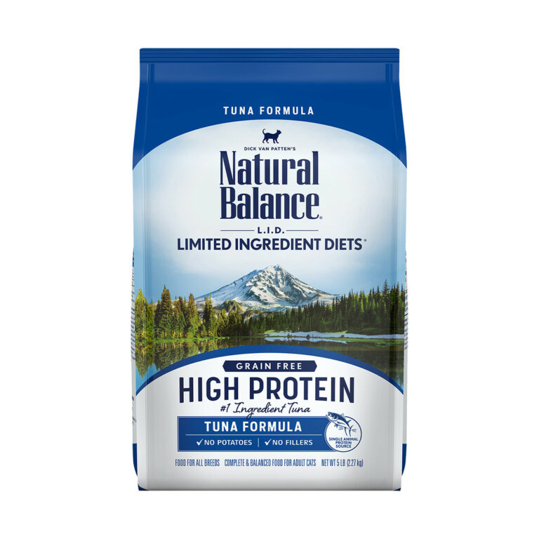 Natural Balance L.I.D. Limited Ingredient Diets High Protein Tuna Formula Dry Cat Food