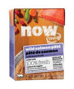 Now Fresh Grain-Free Wild Salmon Pate Wet Cat Food