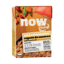 Now Fresh Grain-Free Wild Salmon Stew Wet Cat Food
