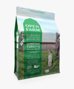 Open Farm Homestead Turkey & Chicken Recipe Dry Cat Food