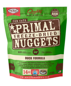 Primal Duck Formula Nuggets Grain-Free Raw Freeze-Dried Cat Food