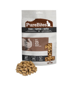 PureBites Raw Freeze Dried Turkey Recipe Cat Food - Topper