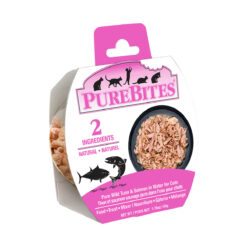 PureBites Mixers 100% Tuna & Salmon in Water Grain-Free Cat Food Trays