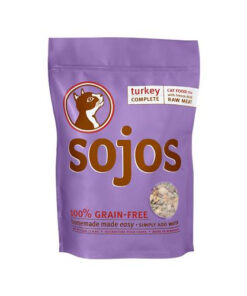 Sojos Complete Turkey Grain-Free Freeze Dried Raw Cat Food