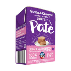 Stella & Chewy's Grain-Free Purrfect Paté Wet Food for Cats - Chicken & Salmon Recipe