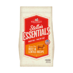 Stella's Essentials Grain-Free Grass-Fed Beef & Lentils Recipe Dry Dog Food