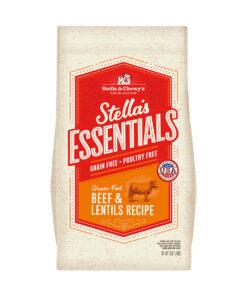 Stella's Essentials Grain-Free Grass-Fed Beef & Lentils Recipe Dry Dog Food